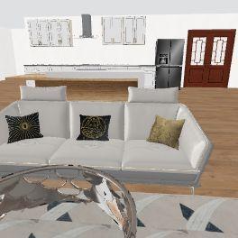 Modern Home in Progress Interior Design Render