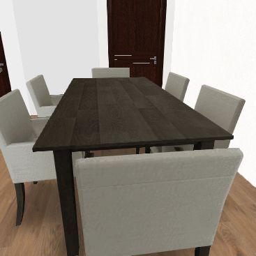 big family Interior Design Render