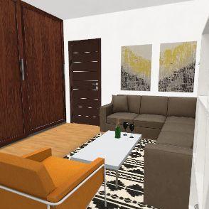 Anka izba Interior Design Render