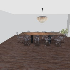 Stone house Interior Design Render