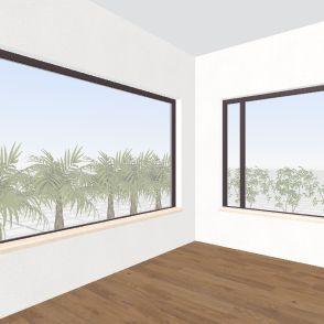 varanda casa Interior Design Render