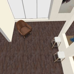 pretty house Interior Design Render