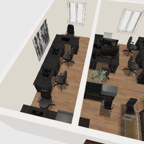 офис макс сотрудников Interior Design Render
