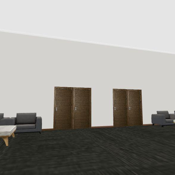 Mustang Church Interior Design Render