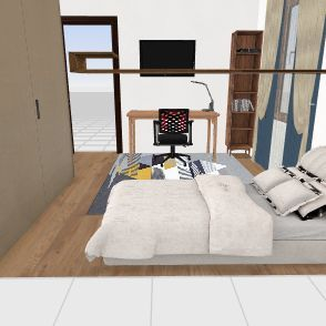Camera Davide piccola Interior Design Render