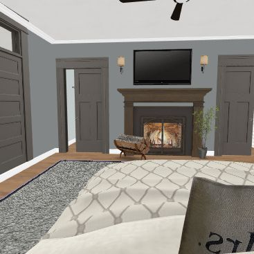 clara's house Interior Design Render