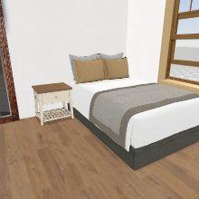Alyssa's Bedroom Interior Design Render