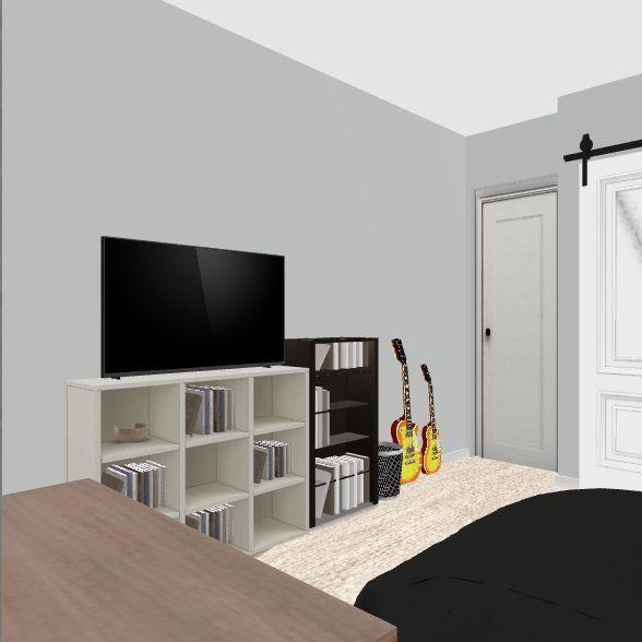 Ali's New Room Interior Design Render