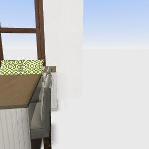 3206 Kitchen Interior Design Render