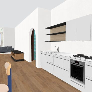 distruggi poco Interior Design Render