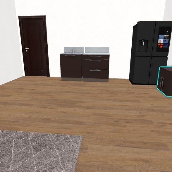 HK Apartment Interior Design Render