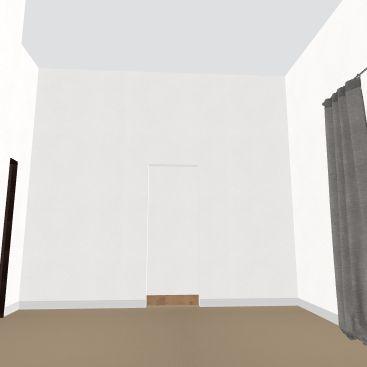 Christina Bedroom view2 Interior Design Render