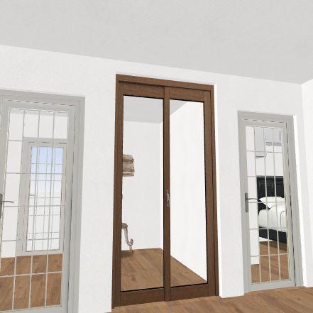 Cottage 800 sq ft Interior Design Render