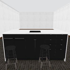best kitchen Interior Design Render
