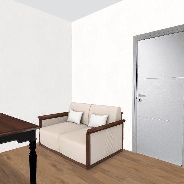 Salon Świebodzice Interior Design Render