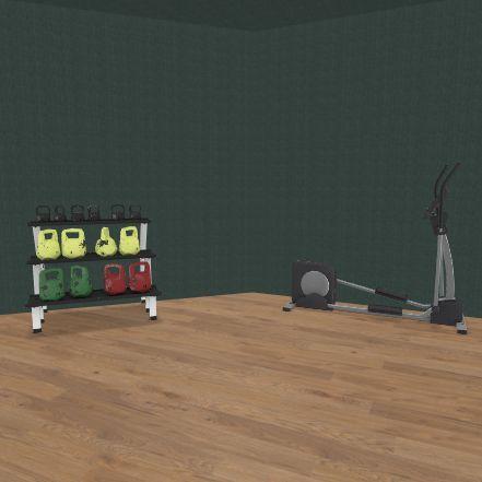exercise room Interior Design Render