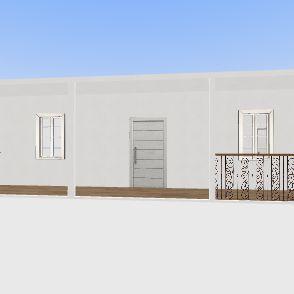 am house Interior Design Render
