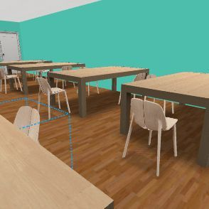 Modelo Salon Interior Design Render