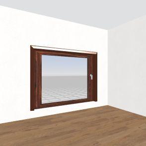 banin pokój Interior Design Render