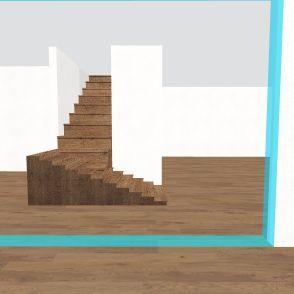 garage which i'm lovinggg!!!!  Interior Design Render