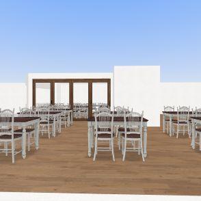 B&B and Restaurant 2 Interior Design Render