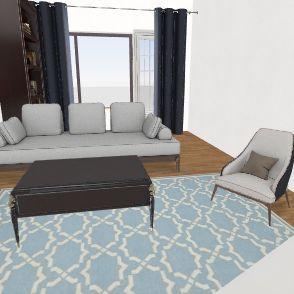 часовая+мебель Interior Design Render