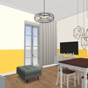 Domek wersja robocza Interior Design Render