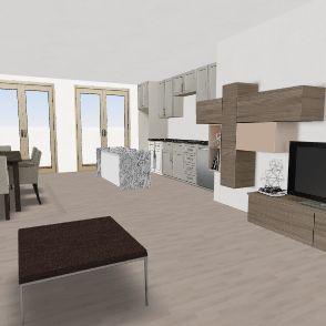 nta Venera 3 Bedroom Interior Design Render