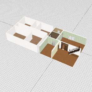 up house Interior Design Render