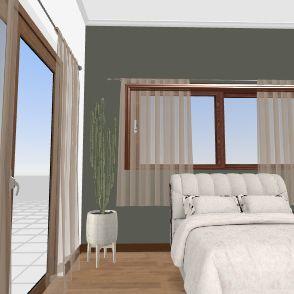 cuarto mayab Interior Design Render