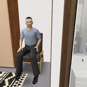 dvir bedroom Interior Design Render