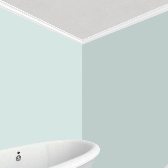Sloped Interior Design Render