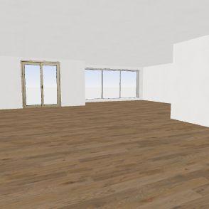 Baycrest #2 - Basement Interior Design Render