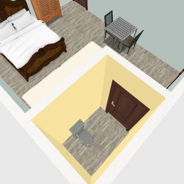 Cabin 2 Interior Design Render