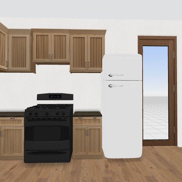 updated kitchen  Interior Design Render