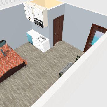 Cabin 1 Interior Design Render