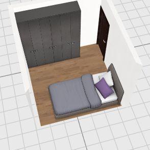 Teste quarto Interior Design Render