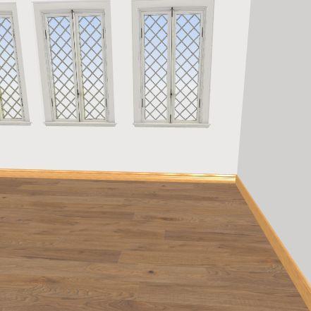 Unfinished House Interior Design Render