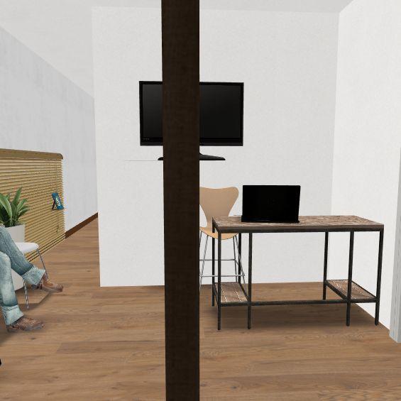 Clinica nueva dividida Interior Design Render