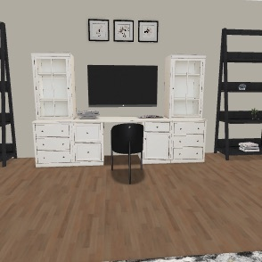 Room modern Interior Design Render