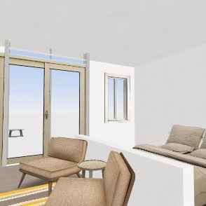 CON PARED CORTA Interior Design Render