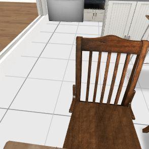 Kitchen living room swap 1.2 Interior Design Render