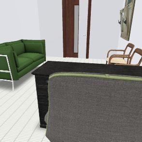 埃文斯辦公室 Interior Design Render