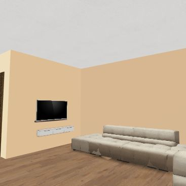 2020.02. Kérész utca Interior Design Render