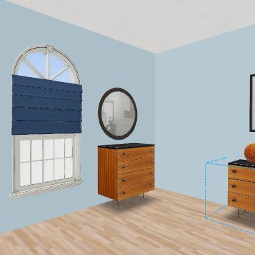 boys bunk room Interior Design Render