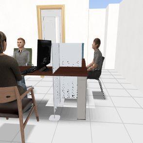 檢驗所2 Interior Design Render
