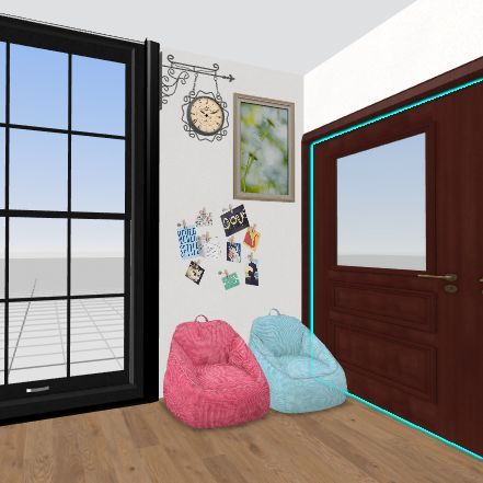 canada family rom Interior Design Render