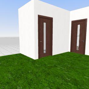 Dog Room Interior Design Render