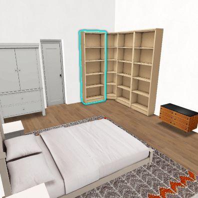 Real álomlak sarokbilly Interior Design Render