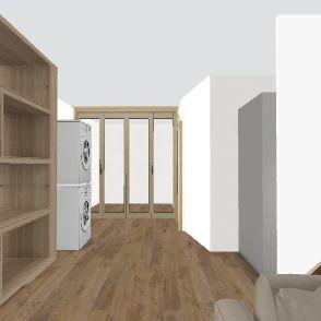 evgeny basement Interior Design Render